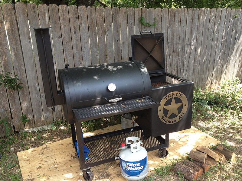 New Lone Star Smoker - The Texas BBQ Forum